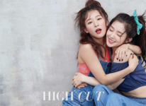Irene and Seulgi for High Cut Magazine