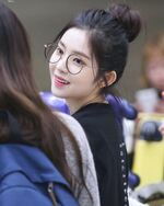 Irene Arriving at Incheon Airport 170611