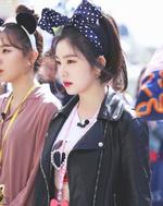 Irene filming for KBS Stle Flow 2