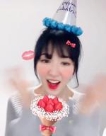 Wendy on her birthday 2
