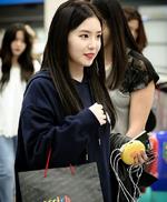 Irene at ICN Airport 2