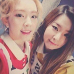 Seulgi and Irene Naver StarCast Update 4