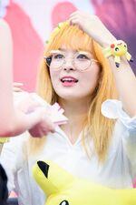 Seulgi wearing glasses