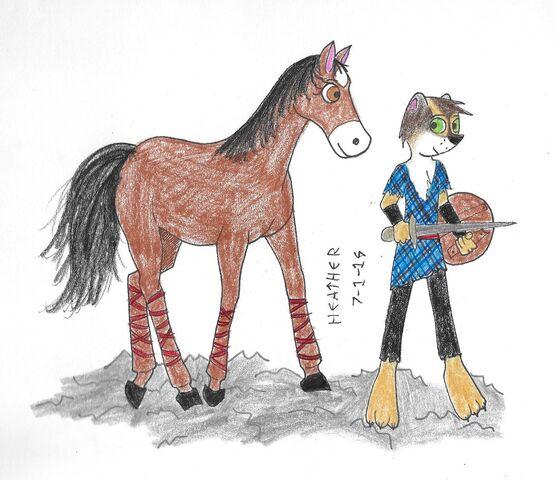 File:Jurgen and horse.jpg
