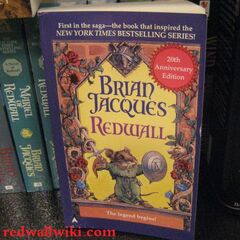 US Redwall 20th Anniversary Paperback