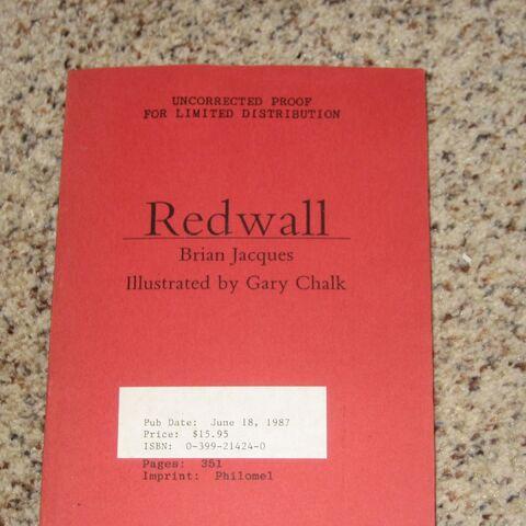 Redwall proof