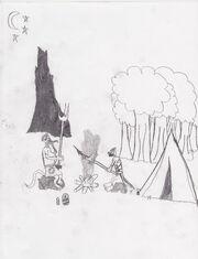 Scouts in Mossflower