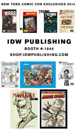 IDW-NYCC2014-Exclusives
