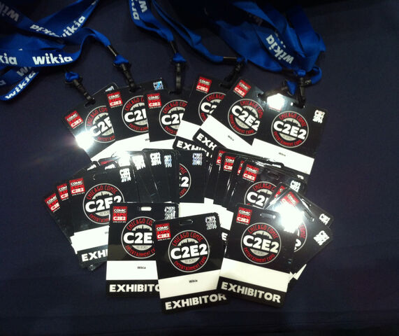 File:C2E22014-badges.JPG