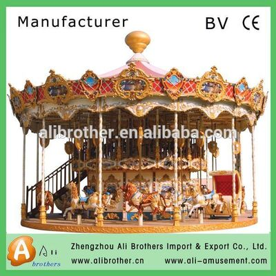 Hot sale amusement park merry go round