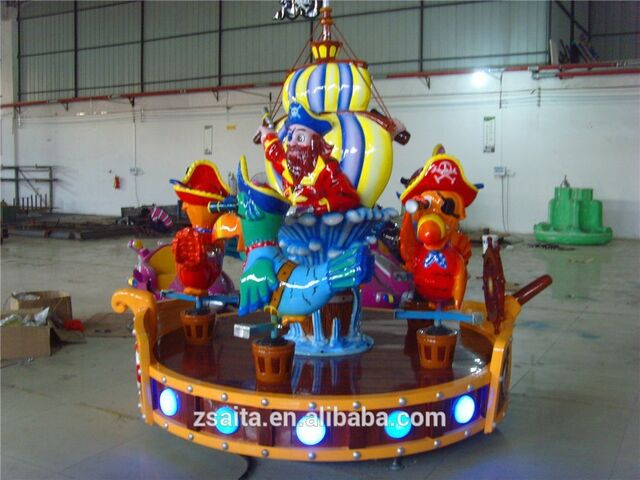 File:Kids attraction playground equipment carousel.jpg