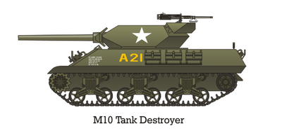 M10 TD US Army large