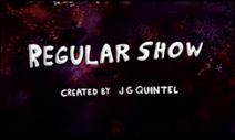Regular Show Tidle