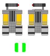 Dual saber gauntlets by jedimsieer