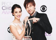 Adelaide Kane N Torrance Coombs- People's Choice Award IIII