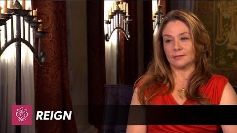 Reign - Megan Follows Interview