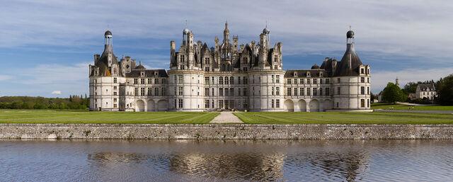 File:Chambord Castle Northwest facade.jpg