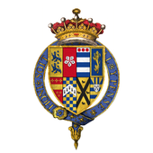 File:Coat of arms of Sir Robert Dudley, 1st Earl of Leicester, KG (1).png