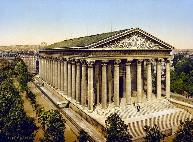 File:1024px-The Madeleine, Paris, France, ca. 1890-1900.jpg