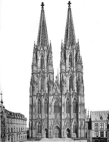 File:800px-Hasak - Der Dom zu Köln - Bild 02 Westseite.jpg