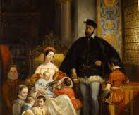 File:Queen Catherine King Henry & their children.jpg
