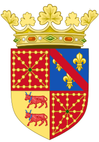 File:200px-Coat of Arms of Henry IV of France as King of Navarre (1572-1589) svg.png