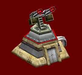 Chinese Gatling Bunker