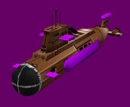 Reich Akula Missile Sub