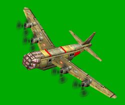 GLA Cargo Plane