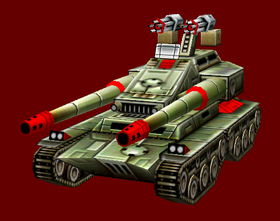 Chinese Overlord Gatling Cannon