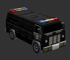 Civilian Van Police