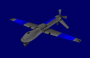 American Predator Spy Drone