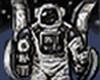 Robot Cosmonaut Icon