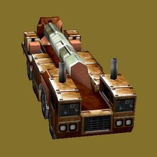 Russian SCUD Launcher