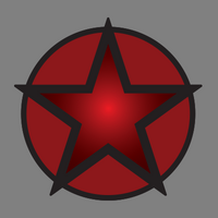 Militia Star Red