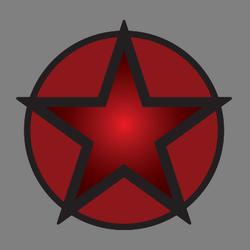 Militia Star Red