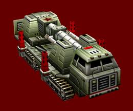 Chinese Nuke Cannon Undeployed