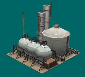 Civilian Oil Refinery