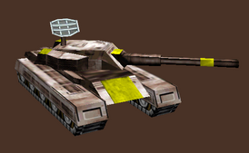 EMTV M31 Warrior Tank
