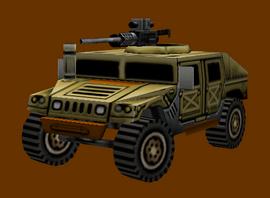 MEA Saudi Humvee