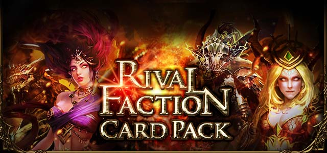 Rival Faction Card Pack 1 page