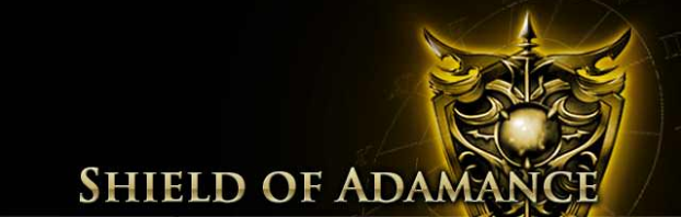 Shield of Adamance Page Banner