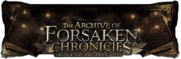 The Archive of Forsaken Chronicles page