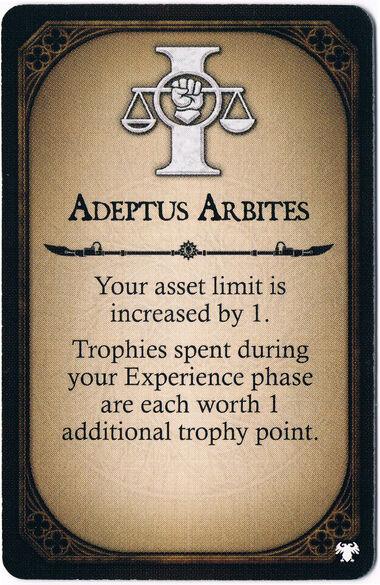 Adeptus Arbites Champion