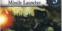 Death Guard Missile Launcher