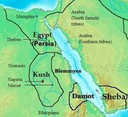 Africa in 400 BC