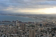 Sunrise at Haifa Bay