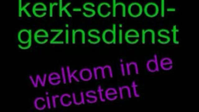 Kerk School Gezin