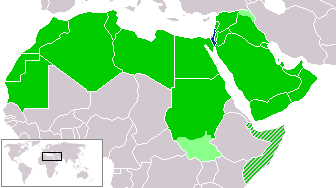 File:Israel and arab states map.png