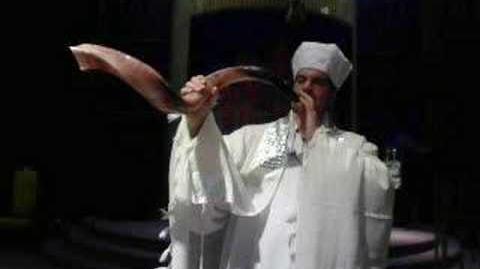 An Amazing Shofar Ram's Horn Service Jewu 233 Rabbi Jonathan Ginsburg